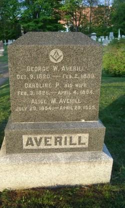 Caroline P. Averill