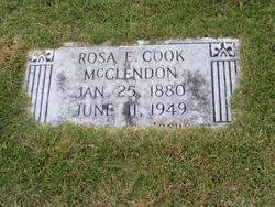 Rosa E <i>Cook</i> McClendon