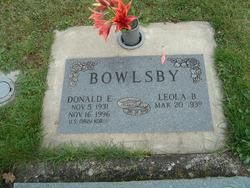 Donald E. Bowlsby