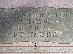 Noma Darlene Arnold