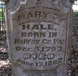 Mary Clay <i>Thaxton</i> Hale