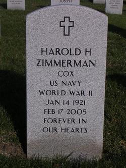 Harold Herbert Zick Zimmerman