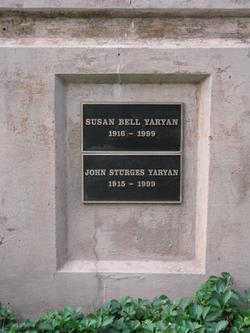 Susan Barrett <i>Bell</i> Yaryan