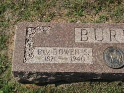 Rev Dowen Sibley Burke