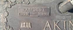 Raiford Lewis R.L. Akins