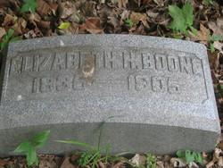 Elizabeth Hoover <i>Sanders</i> Boone