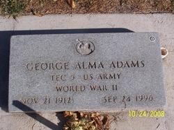 George Alma Adams