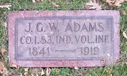 Pvt James G. W. Adams
