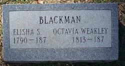 Octavia <i>Weakley</i> Blackman