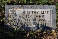 Dorothy Mae <i>Bingham</i> Gruver