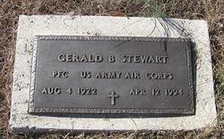 Gerald Boyd Stewart