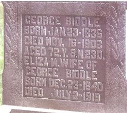George Biddle