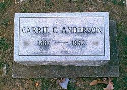 Caroline C Carrie <i>Neville</i> Anderson