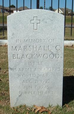 Marshall C Blackwood