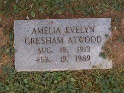 Amelia Evelyn <i>Gresham</i> Atwood
