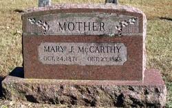 Mary J <i>Breedon</i> McCarthy