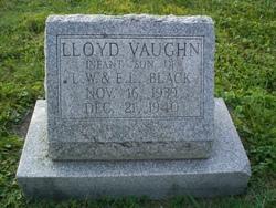 Lloyd Vaughn Black