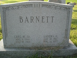 Ladema Grace <i>Knepper</i> Barnett