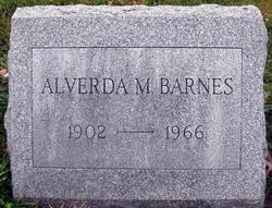 Alverda M <i>Piper</i> Barnes