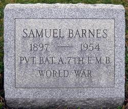 Pvt Samuel Barnes