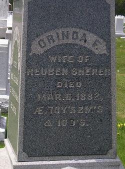 Orinda F. <i>Daggett</i> Sherer