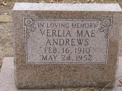 Verlia Mae Andrews