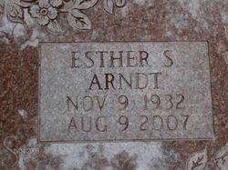 Esther S Arndt