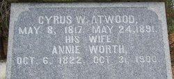 Annie <i>Worth</i> Atwood