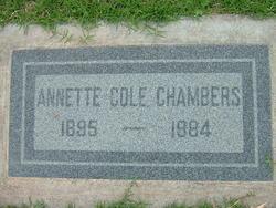 Annette <i>Cole</i> Chambers