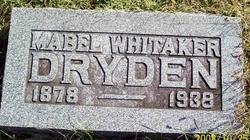 Mabel <i>Whitaker</i> Dryden