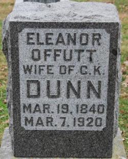 Eleanor <i>Offutt</i> Dunn