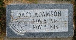 Infant Male Adamson