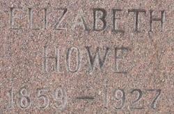 Elizabeth <i>Howe</i> Davies