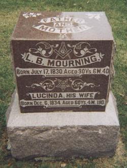 Lucinda Elizabeth <i>Keithley</i> Mourning
