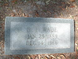 Oglethorpe T Wade