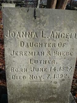 Joanna <i>Luther</i> Angell