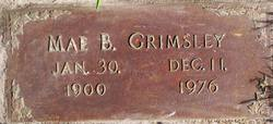Mae Bell <i>Ingram</i> Grimsley