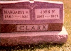 Margaret M <i>Comfort</i> Clark