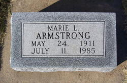 Marie Lucille <i>Fetters</i> Armstrong