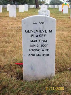 Genevieve May <i>Zook</i> Blakey