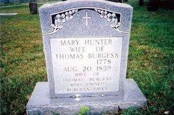 Mary Polly <i>Hunter</i> Burgess