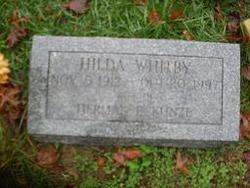 Hilda <i>Whitby</i> Kunze