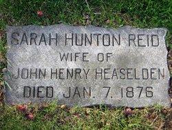 Sarah Hunton <i>Reid</i> Heaselden