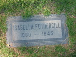 Isabella <i>Smith</i> Fothergill