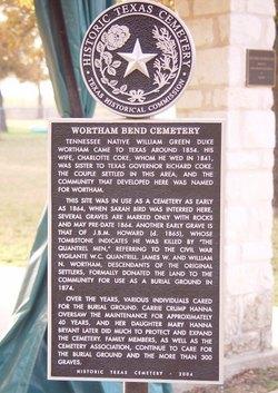 Wortham Bend Cemetery