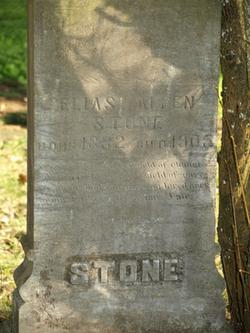 Elias Allen Stone