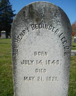 Rev Henry Bedinger Lee