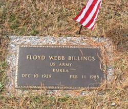 Floyd Webb Billings