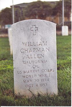 Corp William Chapman Allen