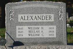 William C Alexander